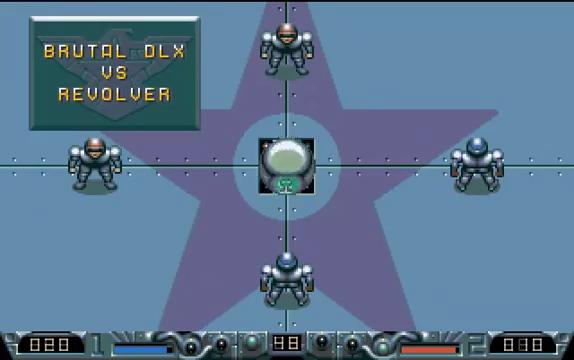 Schemata di gioco di Speedball 2 per Amiga