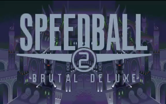 Schermata iniziale di Speedball 2