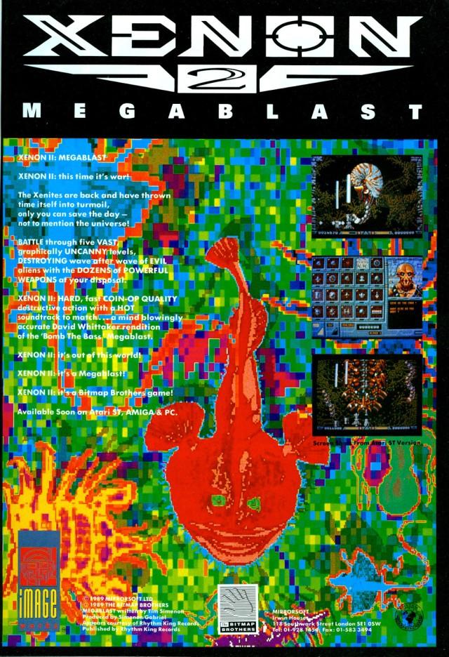 Xenon 2 - Pubblicità su Amiga Format settembre 1989