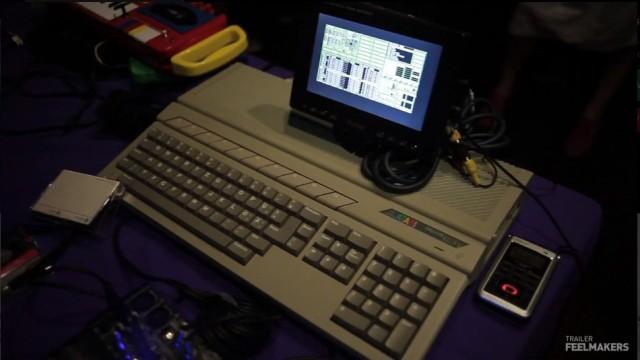 """Un vecchio computer come l'Atari ST, distribuito dal 1985 al 1993, può essere un'ottimo """"strumento"""" musicale. (Immagine tratta dal trailer di """"Europe in 8 bits"""" su Feelmakers)"""