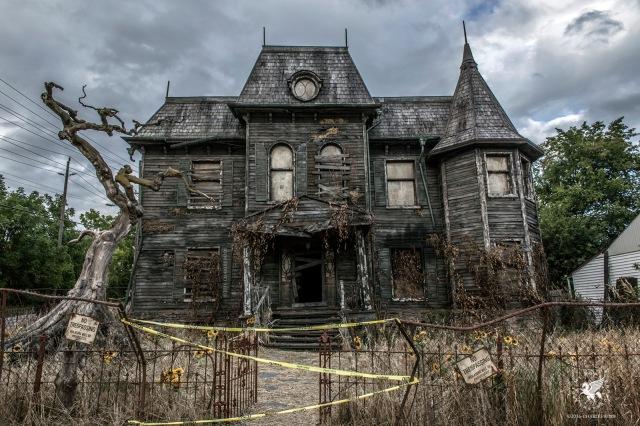 La casa di IT nel fim ispirato al romanzo di Stephen King