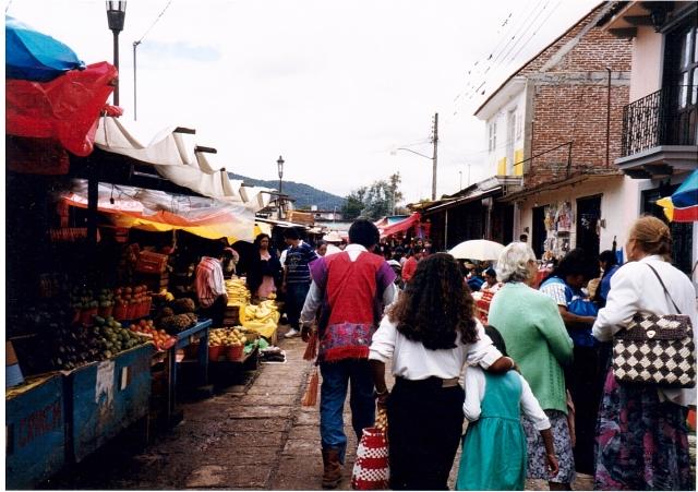 Ssn Cristobal, mercato locale
