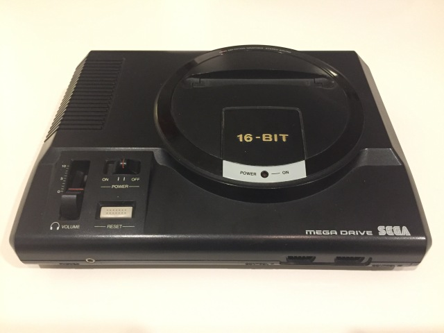 console Sega Mega Drive