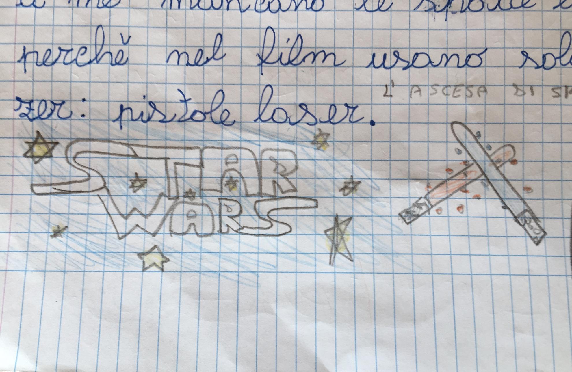 Star Wars IX , la recensione che non mi aspettavo…da mio figlio di otto anni