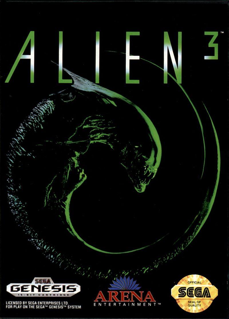 Alien 3 Genesis (USA)