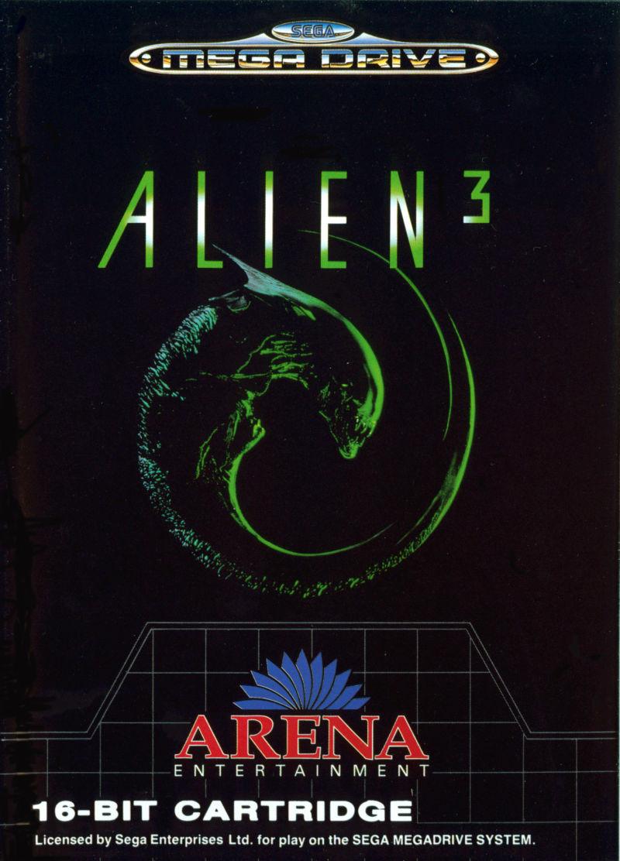 Alien 3 Mega Drive (EU)