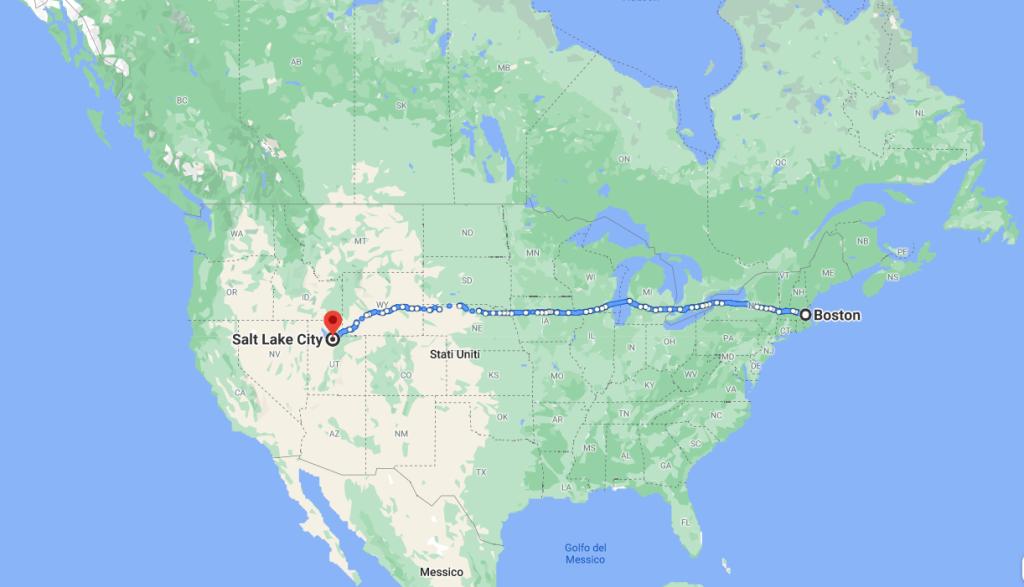 The Last of Us: il viaggio da Boston a Salt Lake City
